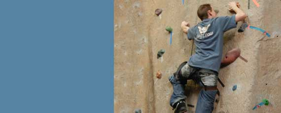 Photo of climbing wall