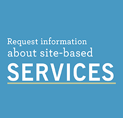 Request information about site-based services