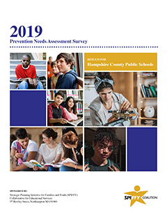 thumbnail image of cover of 2019 Hampshire County Prevention Needs Assessment Survey