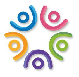Building Inclusive Communities Series logo - circle of colorful squiggles