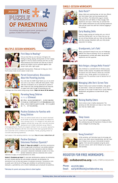 thumbnail of Puzzle of Parenting 2018/19 flyer