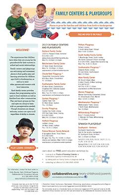 Thumbnail image of family centers and playgroups flyer