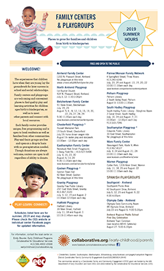 thumbnail of family centers and playgroups summer 2019 flyer