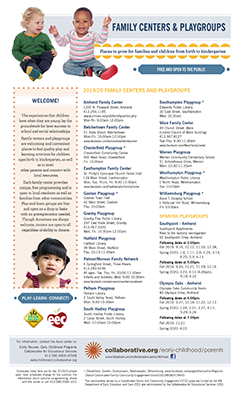 thumbnail of family centers and playgroups 2019/20 flyer