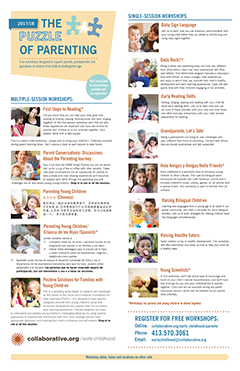 Thumbnail of Puzzle of Parenting flyer