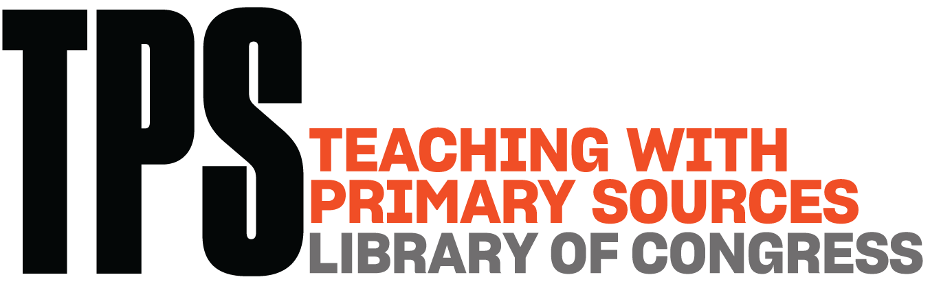 Library of Congress Teaching with Primary Sources logo